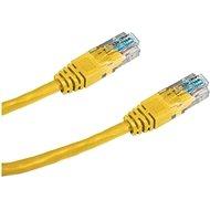 Datacom CAT5E UTP žlutý 2m - Síťový kabel