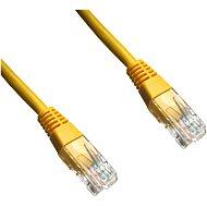 Datacom CAT6, UTP, 2m, žlutý - Síťový kabel