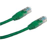Datacom CAT5E UTP zelený 3m
