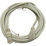 Datacom, CAT6, UTP, 3m, šedý - Síťový kabel
