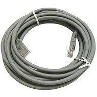 Datacom CAT5E UTP šedý 5m - Síťový kabel