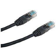 Datacom CAT6, UTP, 5m, černý - Síťový kabel