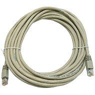 Datacom CAT5E UTP šedý 7m - Síťový kabel