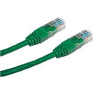Datacom CAT5E UTP zelený 7m - Síťový kabel
