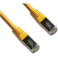 Datacom CAT5E FTP žlutý 2m - Síťový kabel