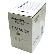 Datacom drát, CAT5E, UTP, 305m/box