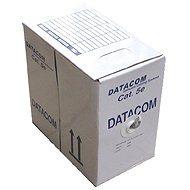 Datacom, drát, CAT5E, UTP, LSOH, 305m/box - Síťový kabel