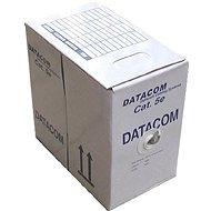 Datacom, drát, CAT5E, UTP, venkovní, 305m/box - Síťový kabel