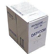 Datacom drát, CAT5E, FTP, PE venkovní, 305m/box
