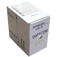 Datacom drát, CAT6, FTP, LSOH, 305m/cívka