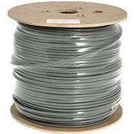 Datacom drát, CAT6, FTP, PVC, 500m/cívka