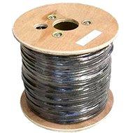 Datacom, drát, CAT6, UTP, PE venkovní, 500m/cívka - Síťový kabel