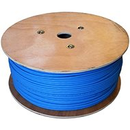 Datacom F/FTP drát CAT6A  LSOH, Eca, 500m, modrý