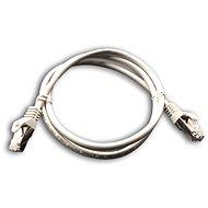 Datacom Patch cord S/FTP CAT6A 1m šedý
