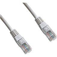 Datacom Patch cord UTP CAT6 5m bílý - Síťový kabel