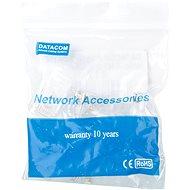10-pack,Datacom, RJ45, CAT5E, UTP, 8p8c, na drát - Konektor