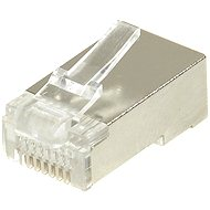 10-pack,Datacom, RJ45, CAT5E, STP, 8p8c, stíněný, neskládaný, na drát - Konektor