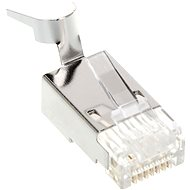 ROLINE 10-pack OEM, RJ45, CAT6, STP, 8p8c, skládaný, na drát - Konektor