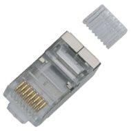 100-pack, Datacom, RJ45, CAT6, STP, 8p8c, stíněný, na drát - Konektor