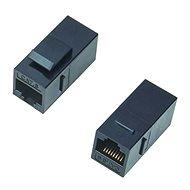 Datacom Panelová spojka UTP CAT6  2xRJ45 (8p8c) přímá - spojka
