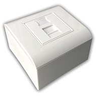 Datacom Modulární datová zásuvka STP CAT6A  1xRJ45 - Zásuvka