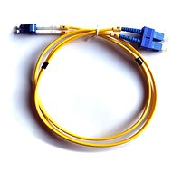 DATACOM LC-SC 09/125 SM 1m duplex - Optický kabel