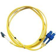 DATACOM LC-SC 09/125 SM 2m duplex - Optický kabel