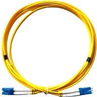 Datacom LC-LC 09/125 SM 2m duplex - Optický kabel