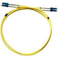 Datacom LC-LC 09/125 SM 1m duplex - Optický kabel