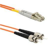 DATACOM LC-ST 62.5/125 MM 2m duplex - Optický kabel