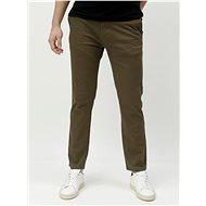 BURTON MENSWEAR LONDON Khaki slim fit chino kalhoty - Kalhoty