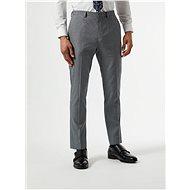 BURTON MENSWEAR LONDON Šedé oblekové skinny fit kalhoty - Kalhoty
