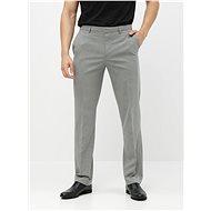 BURTON MENSWEAR LONDON Šedé oblekové tailored fit kalhoty - Kalhoty