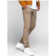 Jack & Jones Beige Slim Fit Chino Trousers Marco - Trousers