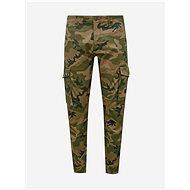 Jack & Jones Khaki Camouflage Trousers With Pockets Paul - Trousers