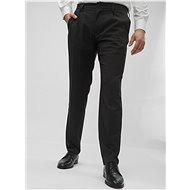 Jack & Jones Tmavě šedé vzorované regular fit kalhoty Cody - Kalhoty