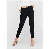 Jacqueline de Yong Černé zkrácené kalhoty Pretty - Kalhoty