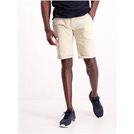 Lindbergh Beige Chino Shorts - Shorts