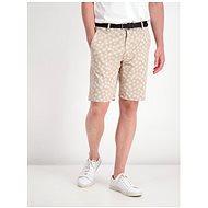 Lindbergh Beige Patterned Shorts - Shorts