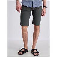 Lindbergh Dark Green Chino Shorts - Shorts