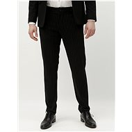 ONLY & SONS Black striped pants Mark - Trousers