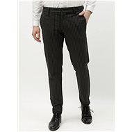 ONLY & SONS Dark gray striped pants Mark - Trousers