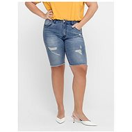 ONLY CARMAKOMA Blue Denim Shorts - Shorts