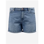 ONLY CARMAKOMA Blue Denim Shorts Hine - Shorts