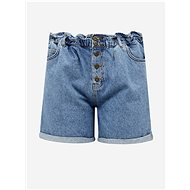 ONLY CARMAKOMA Blue Denim Shorts Luba - Shorts