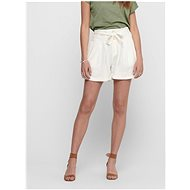 ONLY Cream Linen Shorts Alfina - Shorts