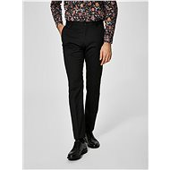 Selected Homme Black Slacks Newone - Trousers