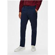 Selected Homme Tmavě modré chino kalhoty New Paris - Kalhoty