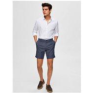 Selected Homme Dark blue Paris shorts - Shorts
