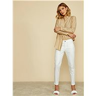 ZOOT Baseline Anna Women's Slim Fit Trousers, White - Trousers